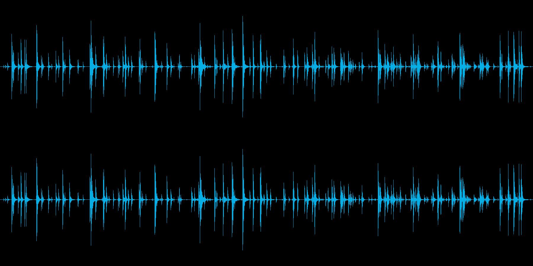 家庭 カップガラガラジングル01の再生済みの波形