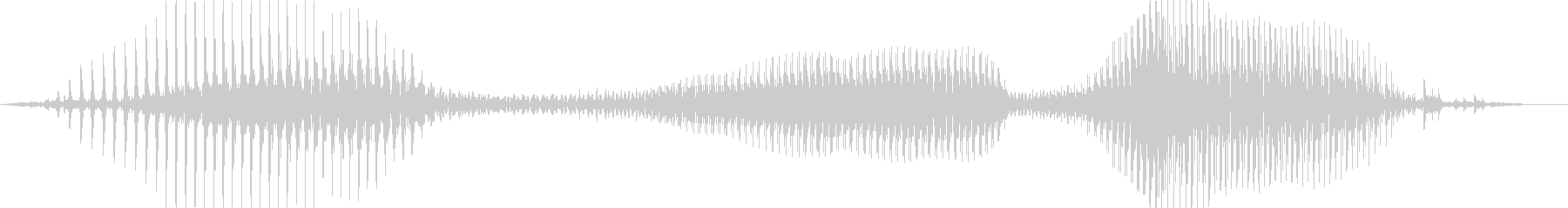 ハズレ!の未再生の波形