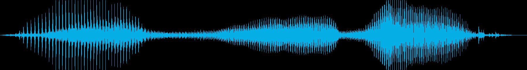 ハズレ!の再生済みの波形
