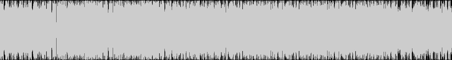 荒いフルートの怪しいビートとコードの未再生の波形