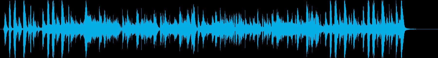 うなぎをテーマにした楽曲の再生済みの波形