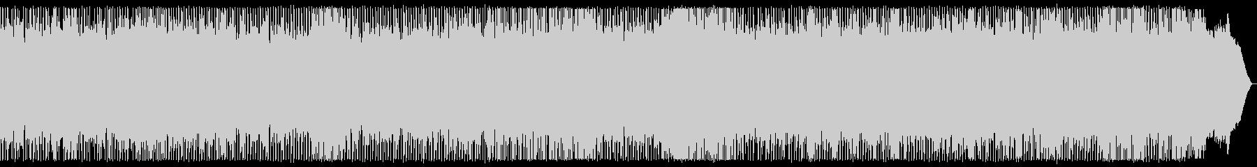 戦闘シーン向け リズム主体メタルBGMの未再生の波形