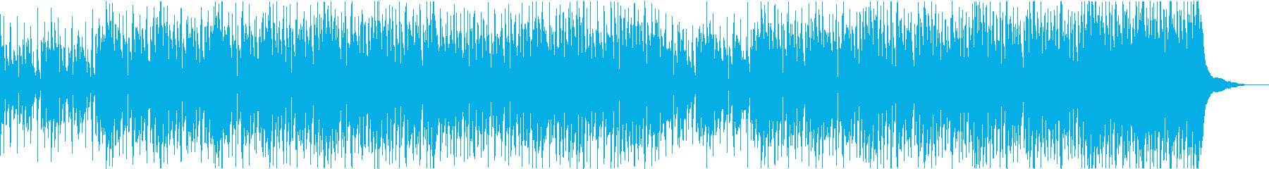 明るく軽快で楽しいウクレレの曲の再生済みの波形