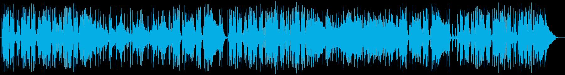 優雅なテンポでかっこいいミュージックの再生済みの波形