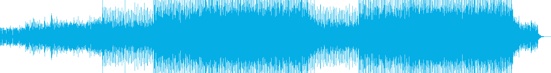 EDMポップで明るいクラブ系-19の再生済みの波形
