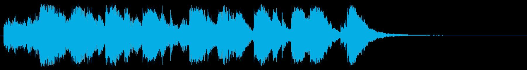 ジングル、弦、アニメ、ファンタジー、明るの再生済みの波形