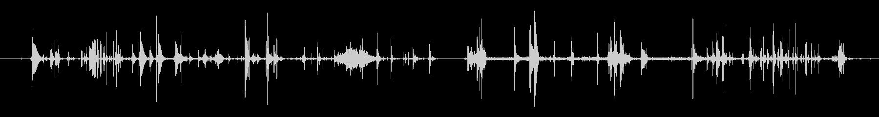 モンスター 肉食11の未再生の波形