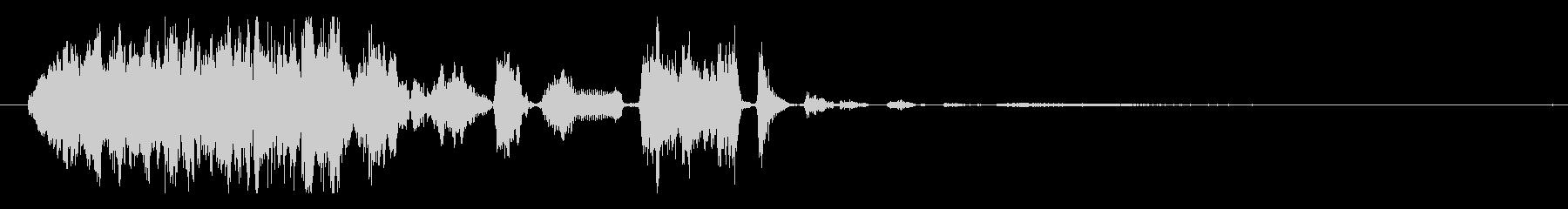 イメージ クレイジートーク02の未再生の波形