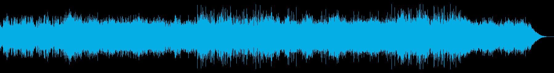 薄暗いアンビエントテクスチャの再生済みの波形