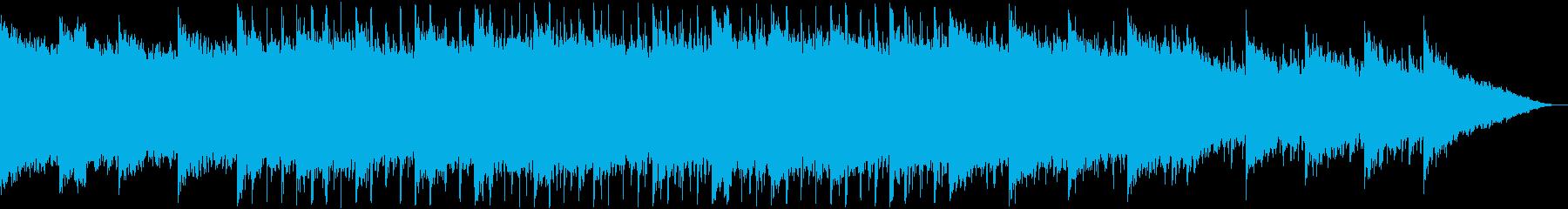 60秒,企業VP,コーポレート,ゆっくりの再生済みの波形