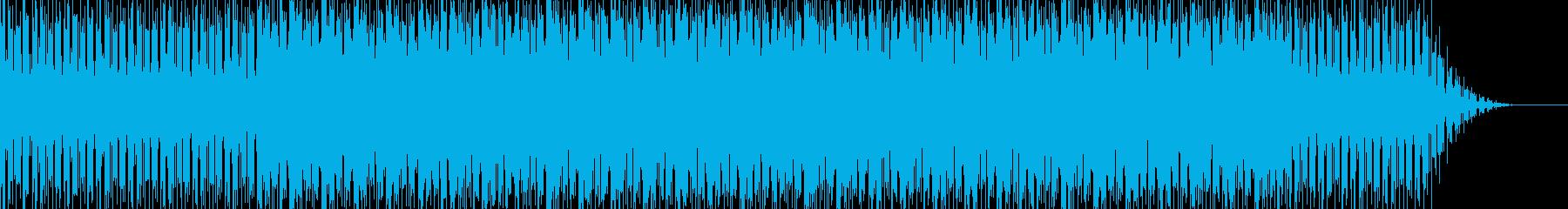 ファッションシーンで使えるハウスBGMの再生済みの波形