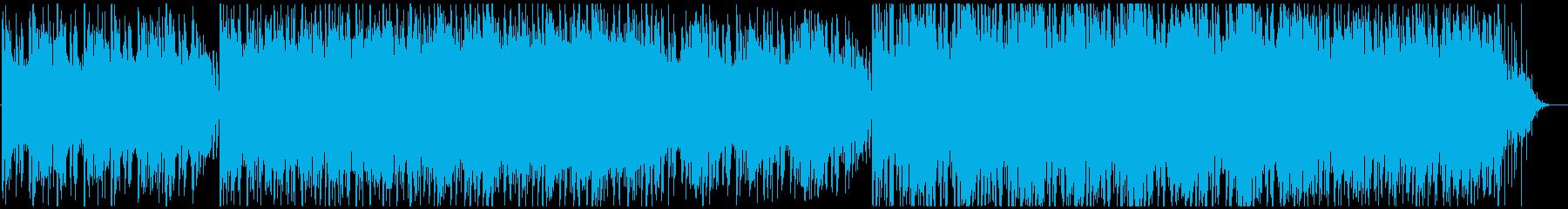 口笛で沖縄やハワイ系海映像におしゃれ軽快の再生済みの波形