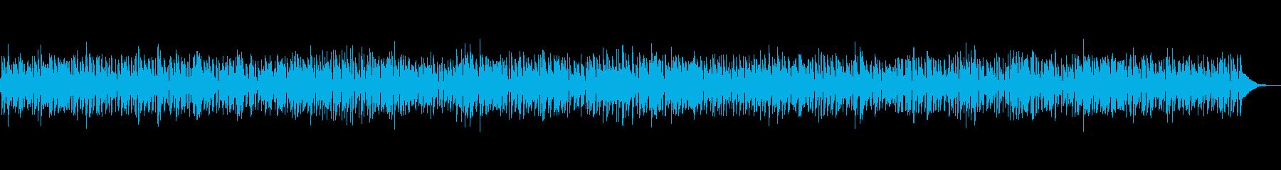 おしゃれなボサノバギターとジャズピアノの再生済みの波形