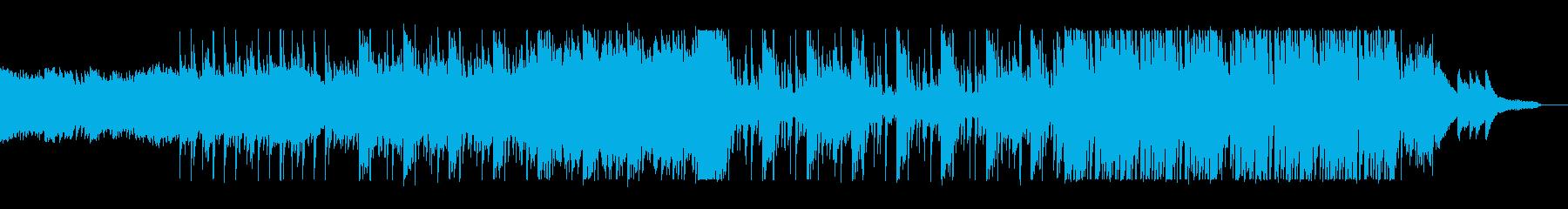 ピアノの音色が綺麗で幻想的な曲の再生済みの波形