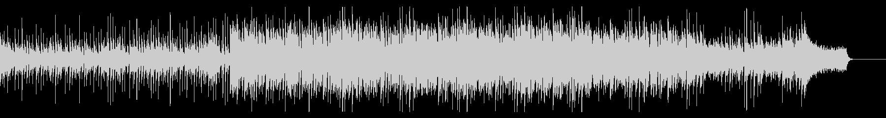 エレクトロなピアノの楽曲の未再生の波形