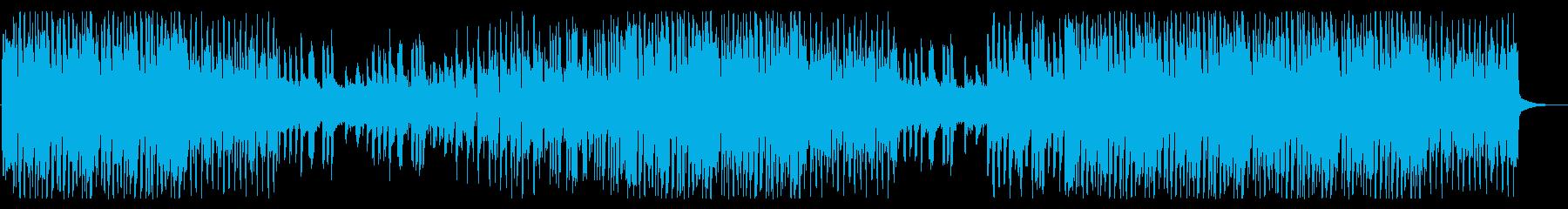 お洒落なファンキーディスコの再生済みの波形