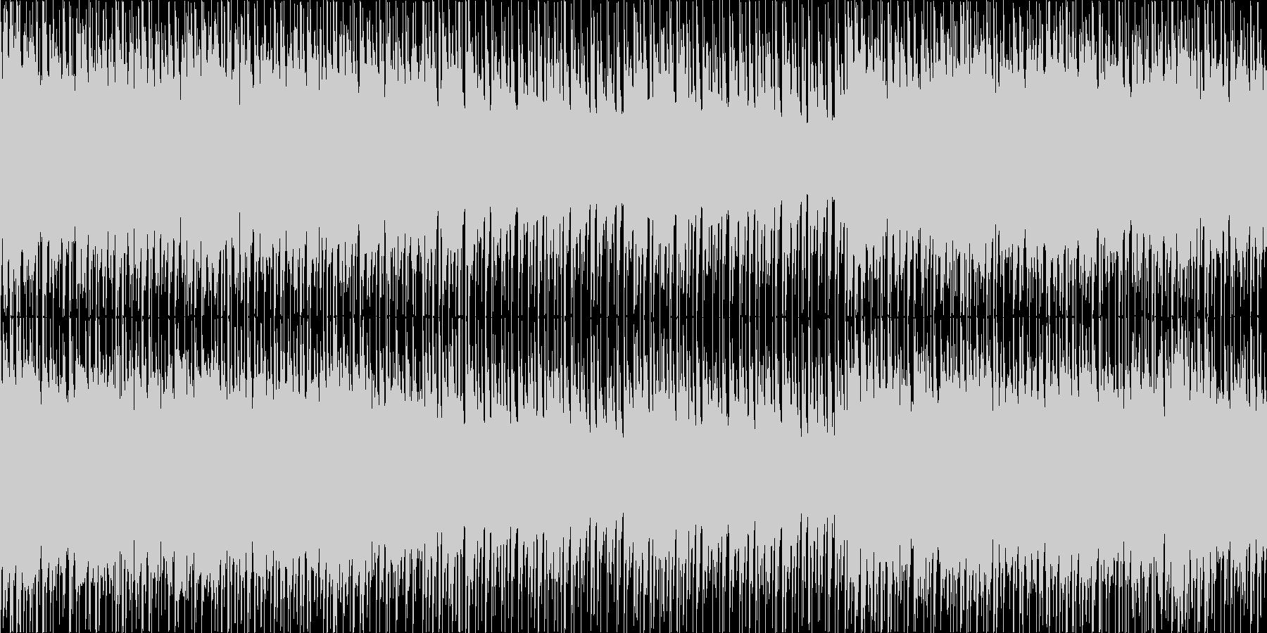 ループ/緊迫感のあるストリングス/ビートの未再生の波形