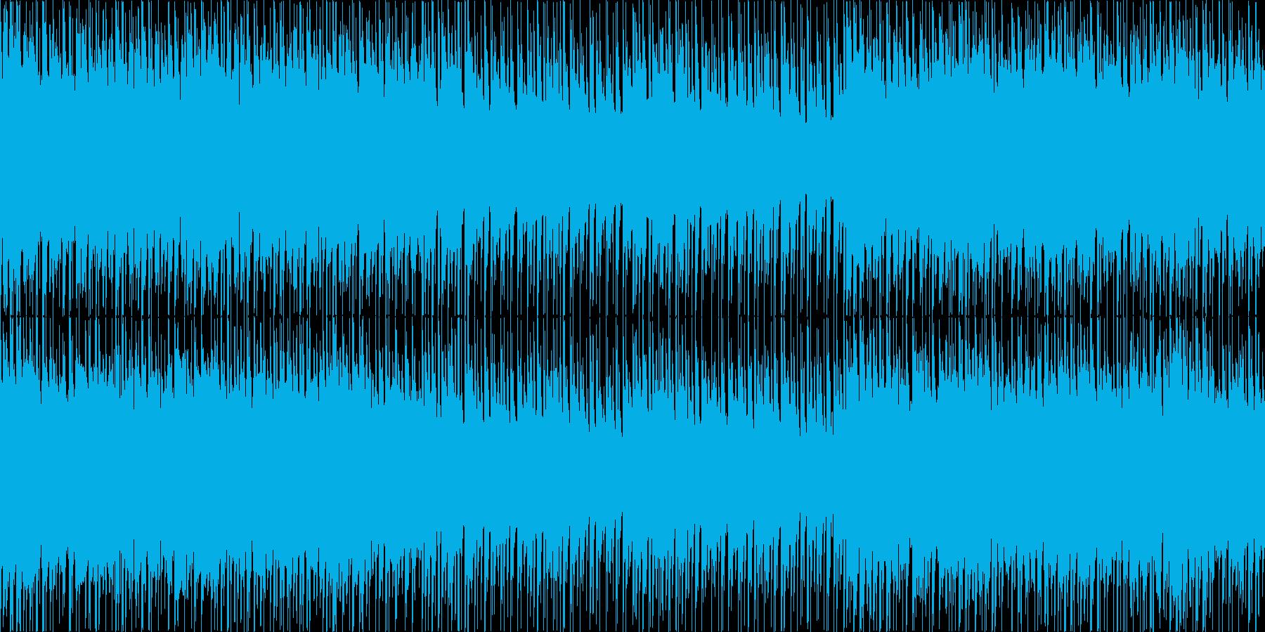 ループ/緊迫感のあるストリングス/ビートの再生済みの波形