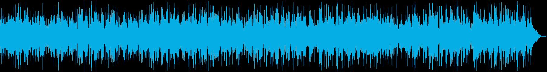 眠りつく前に聴きたいケルティックワルツの再生済みの波形