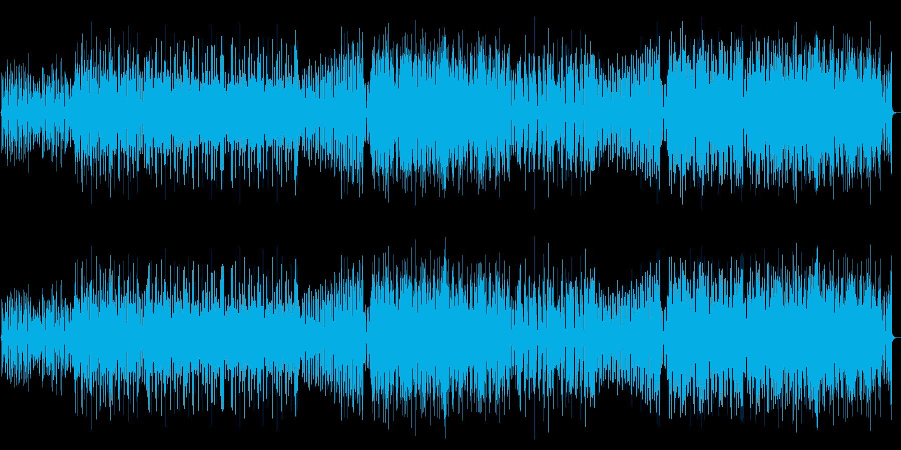 爽やかで美しいFutureBassの再生済みの波形