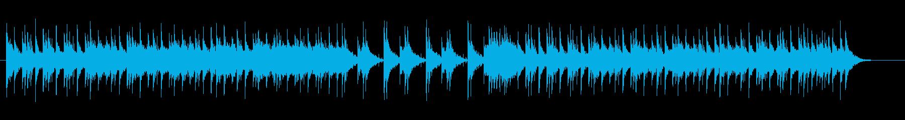 【サムライバトル】和楽器の再生済みの波形