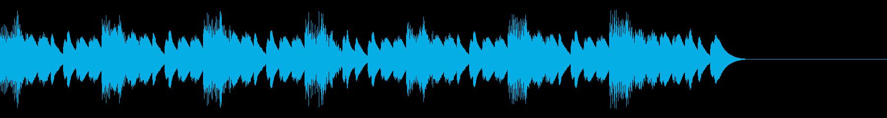 15秒CM用 マリンバSEの再生済みの波形