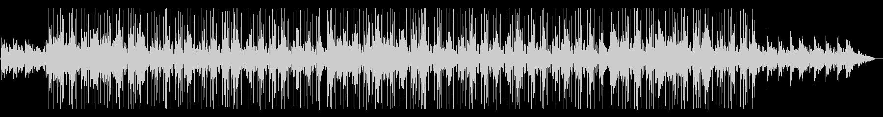 しっとりと綺麗なチル系HIPHOPの未再生の波形