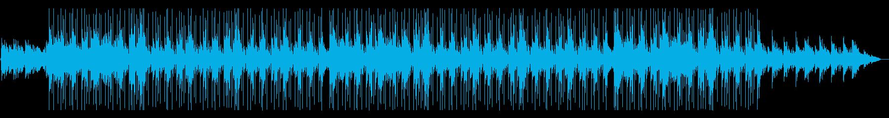しっとりと綺麗なチル系HIPHOPの再生済みの波形