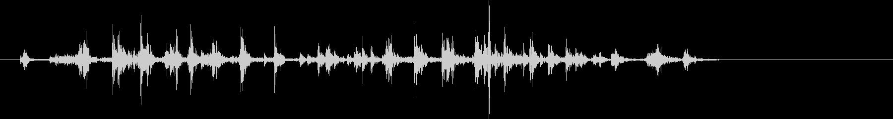 【生録音】カッターナイフの音 13の未再生の波形