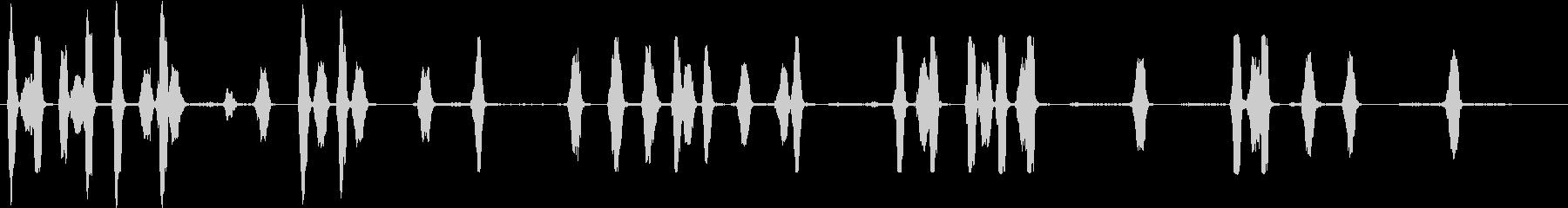 フィンランドのラップハンド犬:内線...の未再生の波形
