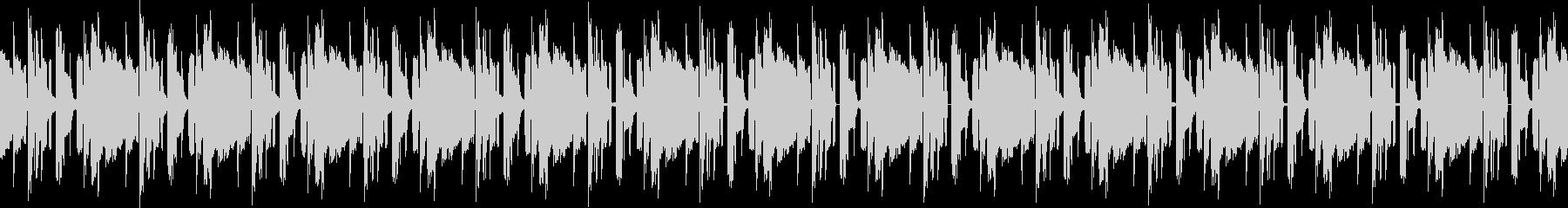 Loop Music (BGM)の未再生の波形