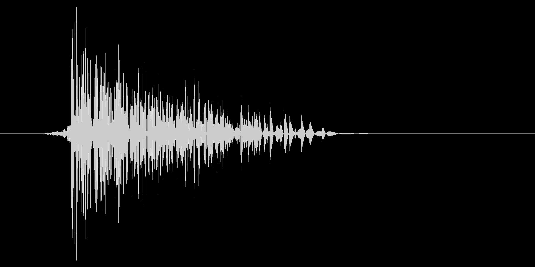 ゲーム(ファミコン風)爆発音_022の未再生の波形