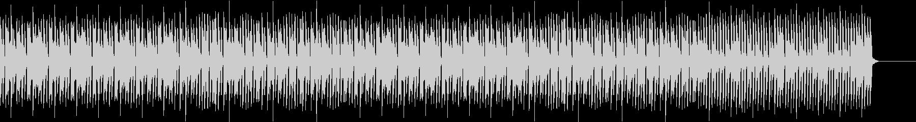 チュートリアルのような優しい音楽の未再生の波形