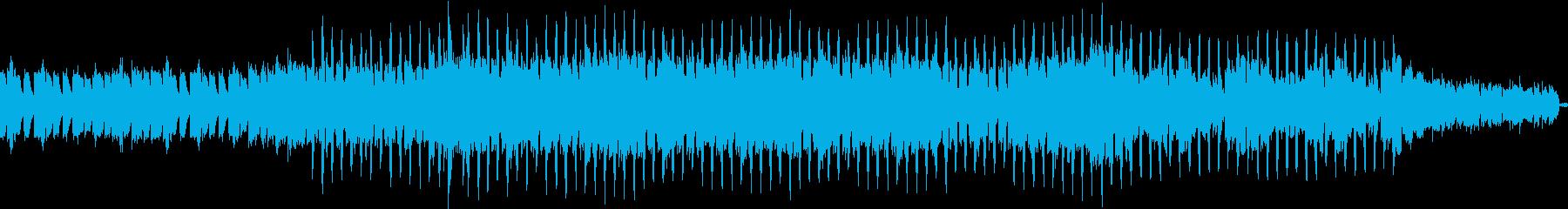 静かにそして強く奏でるEDMの再生済みの波形