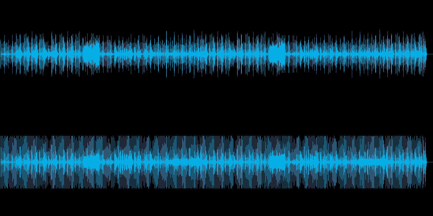 ぽかぽか陽気でゆったりのんきなピアノたちの再生済みの波形