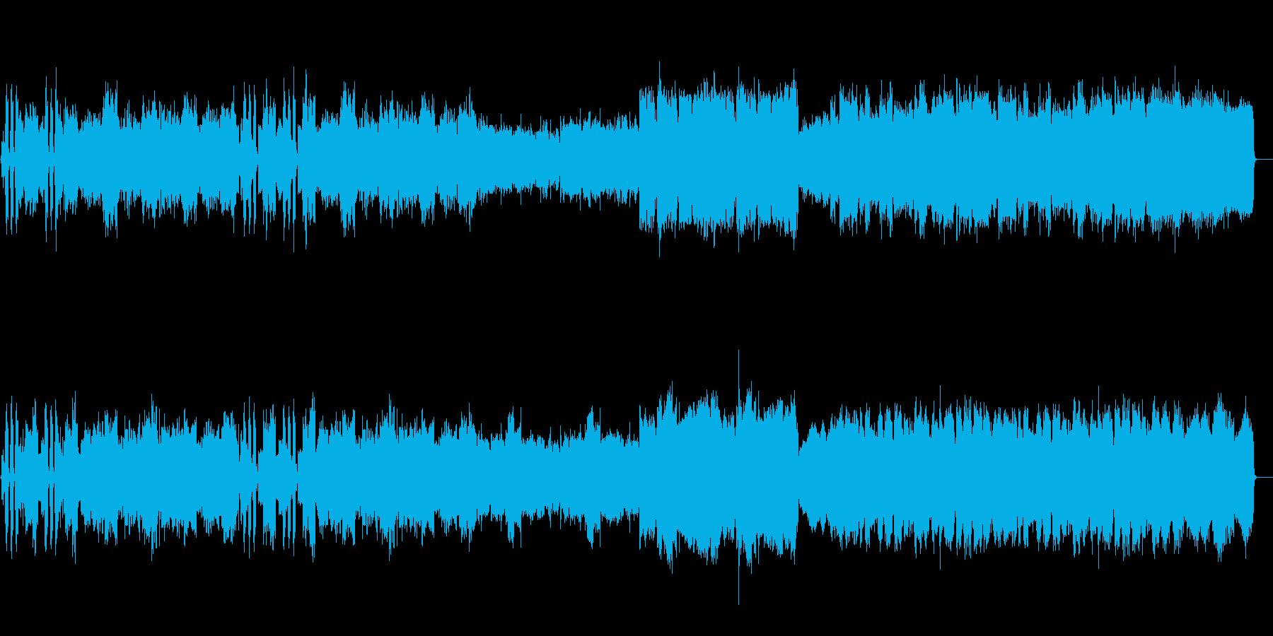 和風正月琴笛太鼓オーケストラ村の再生済みの波形