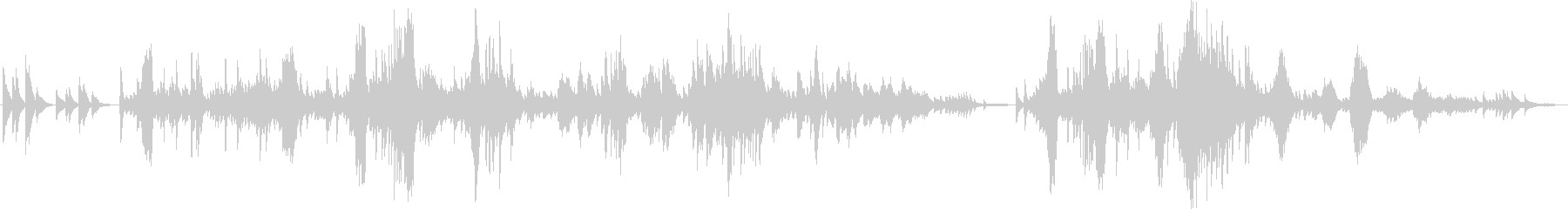 ショパン 遺作 ピアノの未再生の波形
