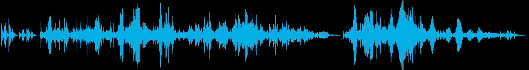 ショパン 遺作 ピアノの再生済みの波形