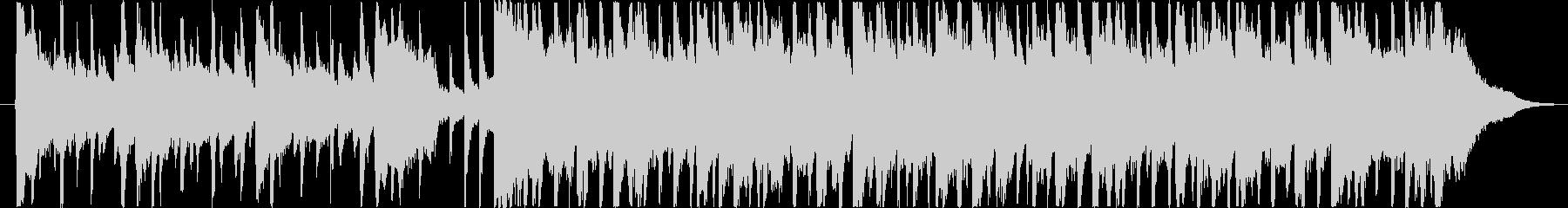 楽しい雰囲気のBGM(30秒ver)の未再生の波形