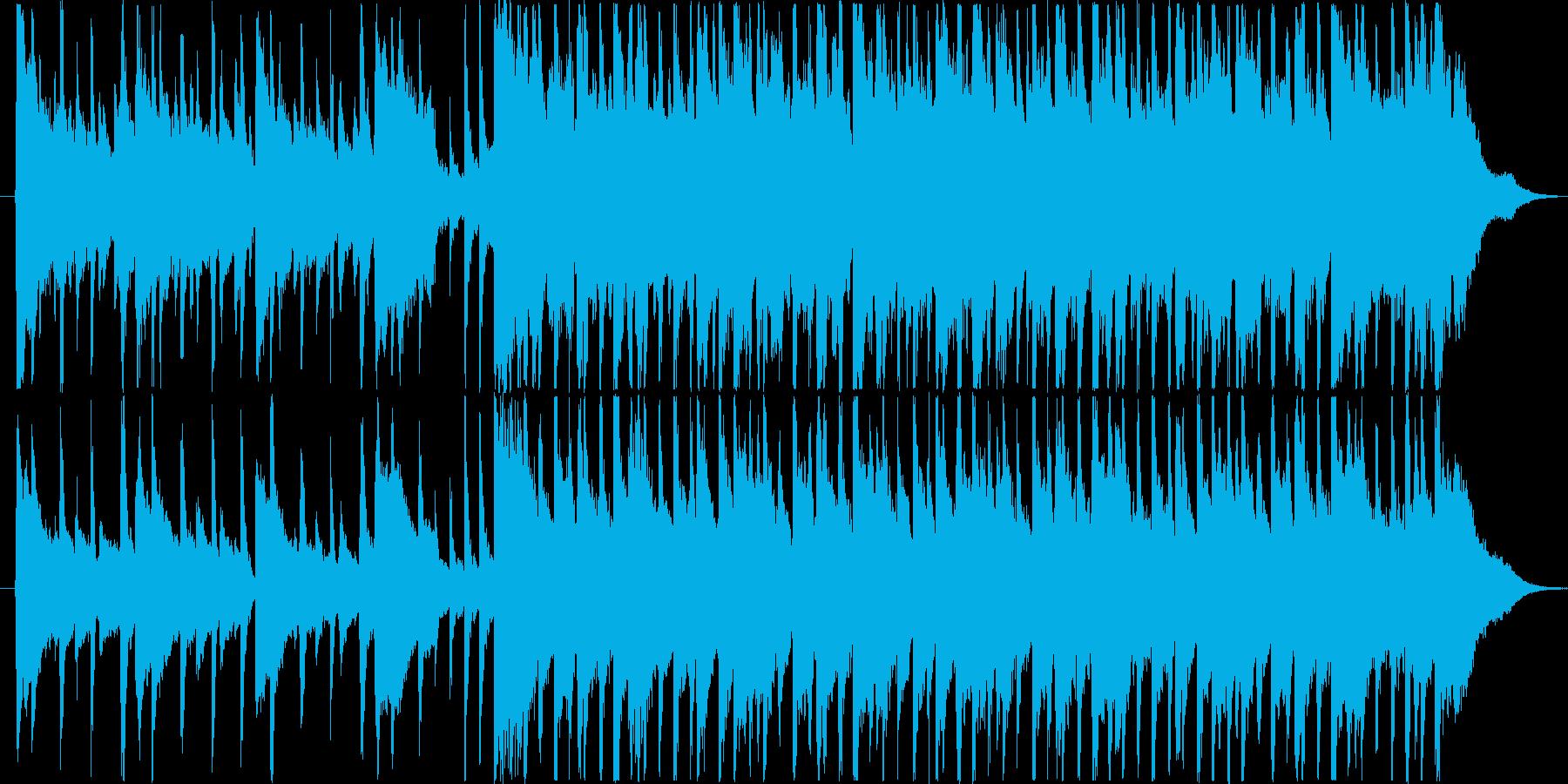 楽しい雰囲気のBGM(30秒ver)の再生済みの波形