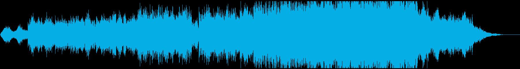 温かく感動的な映像、CMにの再生済みの波形