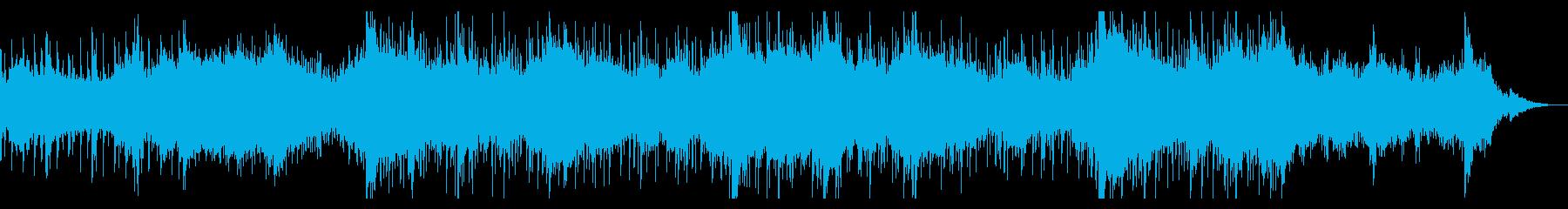 インダストリアルなテクスチャーの再生済みの波形