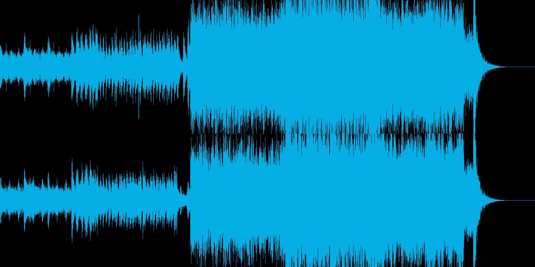 カッコいい出撃シーンにオススメなBGMの再生済みの波形