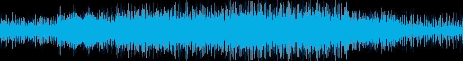 夏をイメージしたトロピカルハウスの再生済みの波形