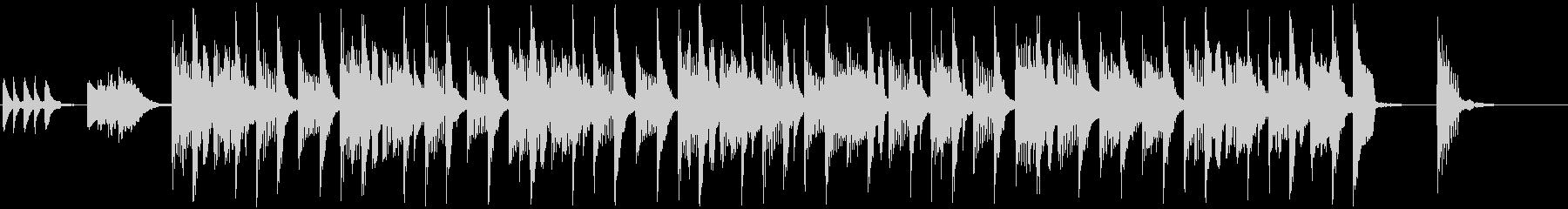 コミカル・ドタバタ(メロあり)ショートの未再生の波形