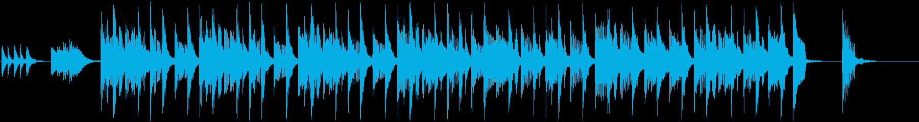 コミカル・ドタバタ(メロあり)ショートの再生済みの波形
