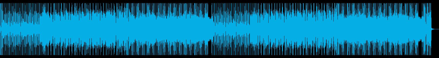 爽やかでスタイリッシュなギターロックの再生済みの波形