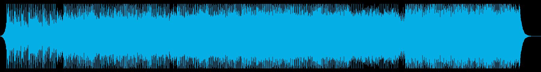 ポジティブの再生済みの波形