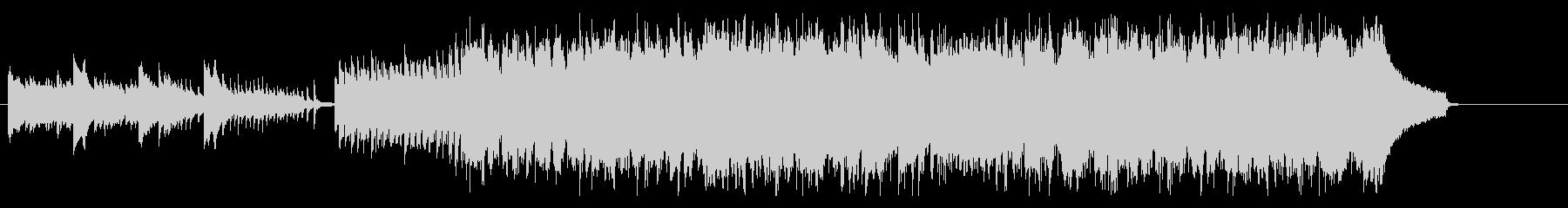ピアノとフルートが特徴のジャズポップスの未再生の波形