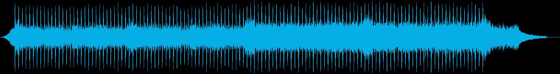 企業VP系78、爽やかピアノ、4つ打ちbの再生済みの波形